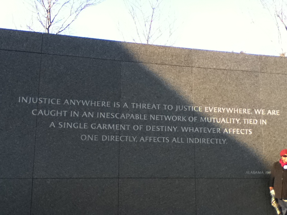 bike to mlk jr monument day acirc phantom landscapes 0503 ldquoinjustice anywhere is a threat to justice everywhere